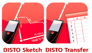 DISTO Sketch - DISTO Transfer