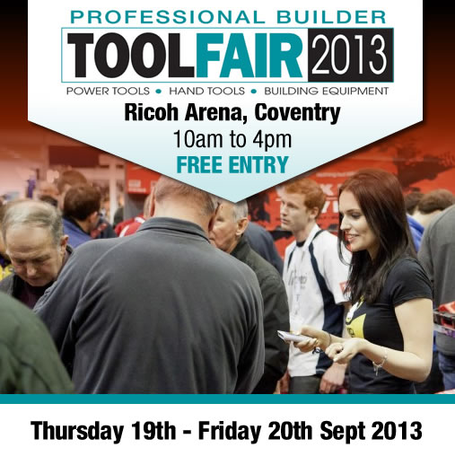 Visit us at ToolFair 2013