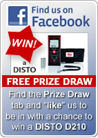 Find us on Facebook and enter the free prize draw