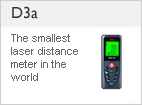 DISTO &#8482 D3a - Multiple functions, precise measurements