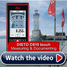 Leica DISTO D810 - Measure on screen