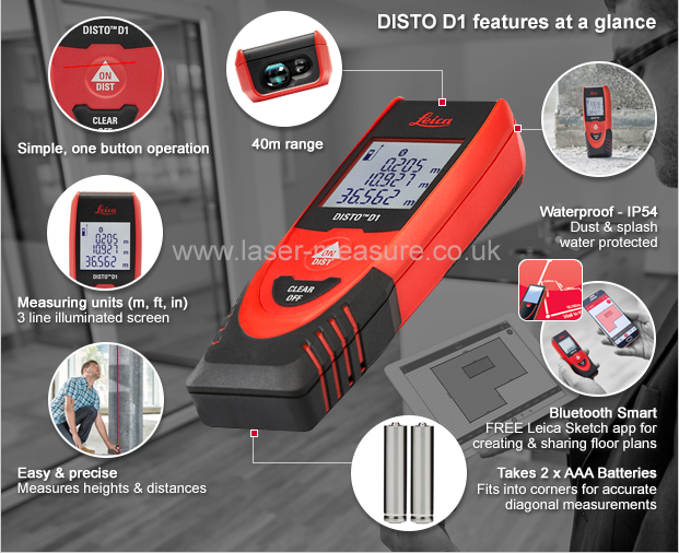 Leica Entfernungsmesser Disto D2 New Bluetooth : Leica disto d laser measure with bluetooth geosystems