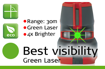 Leica Lino L2 Green Plus - Best Visibility Green Laser